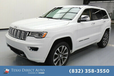 2017 Jeep Grand Cherokee Overland Texas Direct Auto 2017 Overland Used 3.6L V6 24V Automatic 4WD SUV