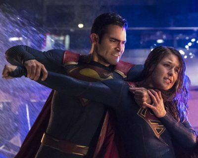 MELISSA BENOIST TYLER HOECHLIN Supergirl RARE NEW 8X10 PHOTO YLT 71