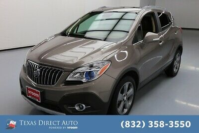 2014 Buick Encore Leather Texas Direct Auto 2014 Leather Used Turbo 1.4L I4 16V Automatic FWD SUV Moonroof
