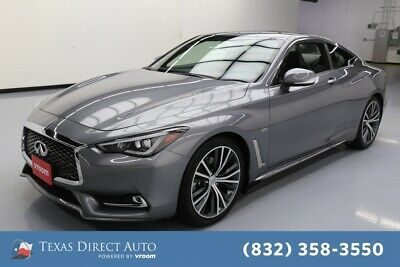 2018 Infiniti Q60 3.0t LUXE Texas Direct Auto 2018 3.0t LUXE Used Turbo 3L V6 24V Automatic RWD Coupe Bose