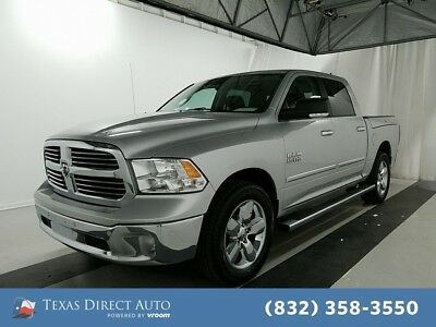 2016 Ram 1500 Big Horn Texas Direct Auto 2016 Big Horn Used 3.6L V6 24V Automatic RWD Pickup Truck