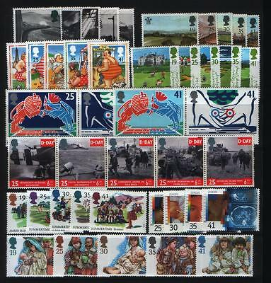 GB 1994 Commemorative Stamps, Year Set~Unmounted Mint~UK Seller