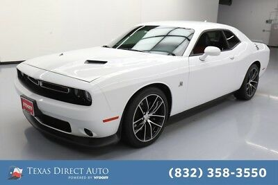 2016 Dodge Challenger R/T Scat Pack Texas Direct Auto 2016 R/T Scat Pack Used 6.4L V8 16V Manual RWD Coupe Premium