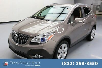 2015 Buick Encore Leather Texas Direct Auto 2015 Leather Used Turbo 1.4L I4 16V Automatic FWD SUV OnStar