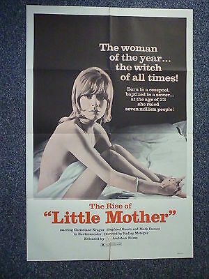 RISE OF LITTLE MOTHER Original 1973 American One Sheet Horror Movie Poster