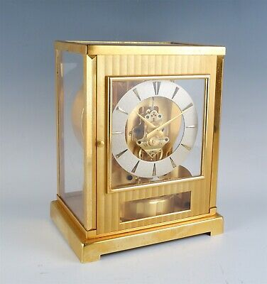 Vintage 1950s Swiss Jaeger-LeCoultre 15 Jewel Atmos Clock for Restoration