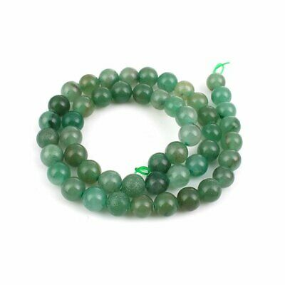 25 perles 8 MM en aventurine gemme naturel