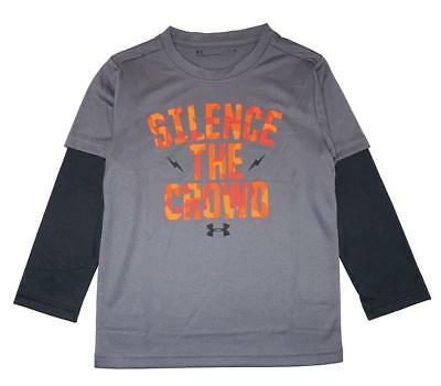 Under Armour Toddler Boys Silence The Crowd Dry Fit Top Size 3T $29.99