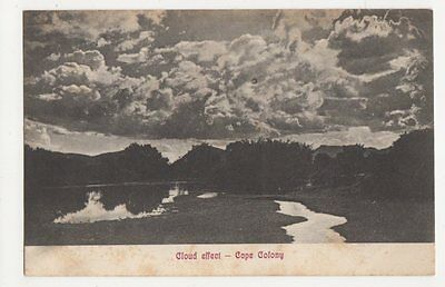 South Africa, Cloud Effect Cape Colony Postcard, B073