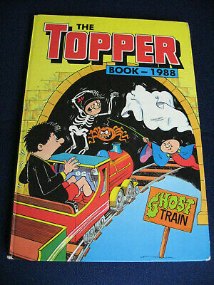 THE TOPPER BOOK 1988 annual by D. C. Thomson (Hardback, 1987) Unclipped, gc