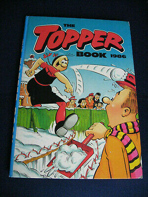 THE TOPPER BOOK 1986 annual by D. C. Thomson (Hardbacks, 1985) Unclipped gc