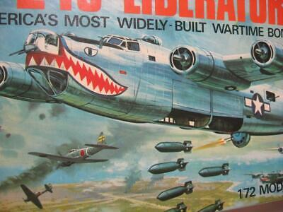B24 Liberator Airfix 1/72 model kit perfect condition still in sealed bag