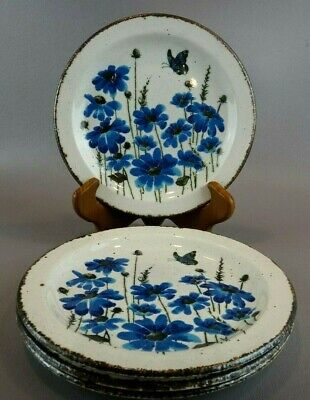 Midwinter Stonehenge SPRING Bread & Butter Plates ~SET OF 4 ~