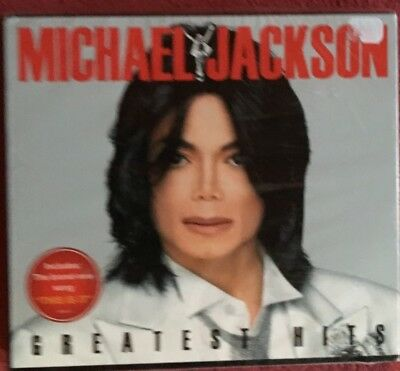 "Michael Jackson ""greatest Hits"" Double Cd Digipack Neuf !"