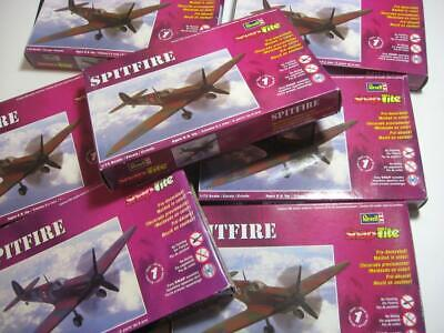 Spitfires job lot of 7 snap together spitfires pre painted a whole Sqn quickly !