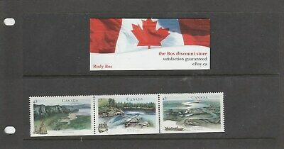 Canada 1994 Canadian Rivers strip of 3 x 43 C MNH postage stamps