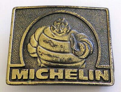 Michelin Tires 1970's The Great Amercan Buckle Company Vintage Belt Buckle