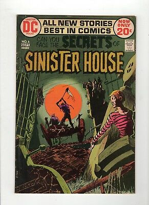 Secrets of Sinister House #6 VG 4.0 Cream to Off White Pages