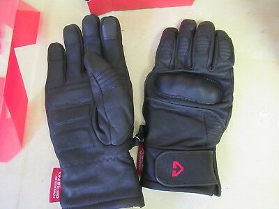 Gerbing Heated Gloves - Hero Leather Motorcycycle / Motorsports - Mens Medium