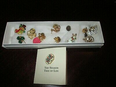 Lot of 12 Vintage Scatter Lapel Pins  - ADORABLE!!!