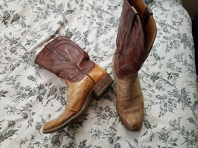 bbb12248d0f MENS VINTAGE LUCCHESE boots 10D