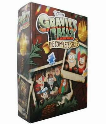 Gravity Falls Dvd 2018 The Complete Series Collector's Edition ( 7 Dvd Discs)