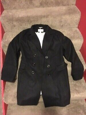 ef70a6faf20 Haute Edition Women s Double Breasted Wool Blend Peacoat 2X Black W101