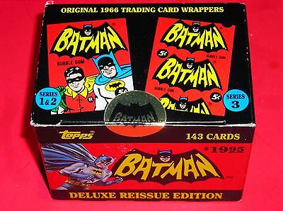 1966 Topps Batman Red Bat Cards - Deluxe Reissue Edition - 5 Random!!