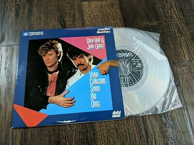 "Daryl Hall & John Oates Video Collection Seven Big Ones 8"" Laserdisc Digital"