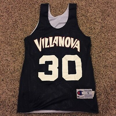 0a41e41e1 Champion Villanova Wildcats Basketbal Jersey Pinnie Reversible Men s Size  Small