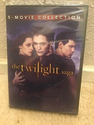 The Twilight Saga: Complete 5-Movie Collection (DVD, 2016, 2-Disc)