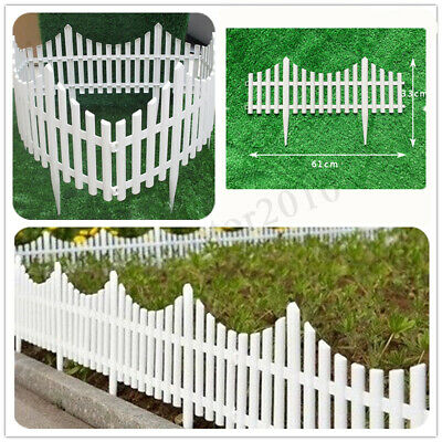 24X Garden Border Fence Pannels Outdoor Living Landscape Decor Pet Edging Yard