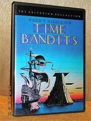 Time Bandits (DVD, 1999, Criterion Collection) Terry Gilliam John Cleese comedy