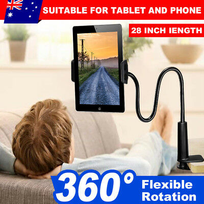Universal 360° Flexible Lazy Bed Desk Tablet Holder Stand Mount For iPad Tablets