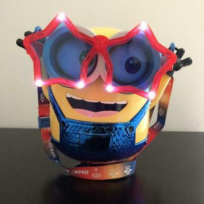 USJ Limited Minion Popcorn Bucket Universal Studio Japan Christmas 2018 F//S Used