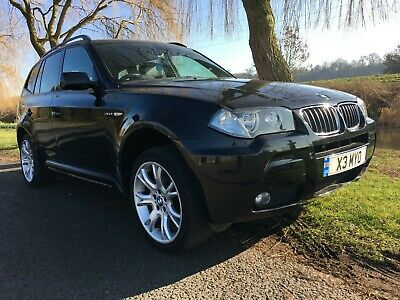 BMW X3 2.0d M Sport 177 Bhp STEP AUTO BLACK ONLY 97K & 2 OWNERS