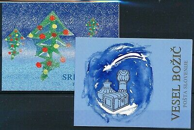 [H12012] Slovenia 1996 : Good Set of 2 Very Fine MNH Complete Booklets