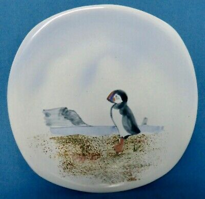 Skye Uig Pottery - Puffin Plate