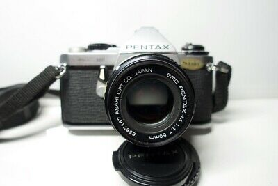 Pentax ME Super with Pentax 50mm f1.7 lens and original case very nice condition