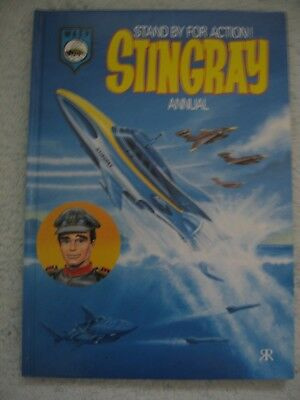 Stingray Annual 1993 - Gerry Anderson Book - Colour Strips & Stories vgc