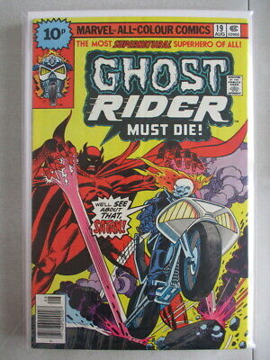 Ghost Rider Vol. 1 (1973-1983) #19 FN/VF UK Price Variant