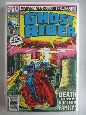 Ghost Rider Vol. 1 (1973-1983) #40 FN/VF UK Price Variant