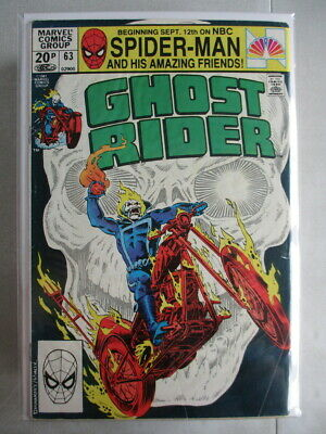 Ghost Rider Vol. 1 (1973-1983) #63 GD/VG UK Price Variant