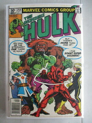 Incredible Hulk Vol. 2 (1968-2011) #258 VG