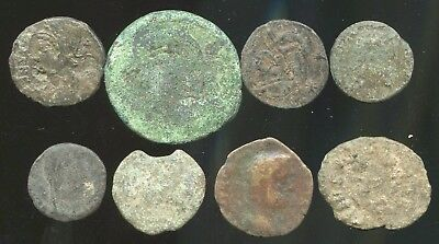 Lot of lower grade Ancient Roman Coins