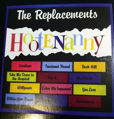 THE REPLACEMENTS:HOOTENANNY (1983 Album) Twin Tone CD Inc. Treatment Bound~NEW