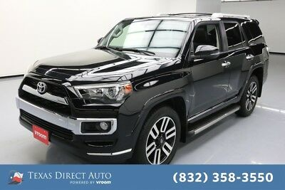 2016 Toyota 4Runner AWD Limited 4dr SUV Texas Direct Auto 2016 AWD Limited 4dr SUV Used 4L V6 24V Automatic 4WD SUV