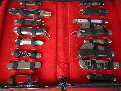 Lot Of 16 Knives Assorted Brands Knife