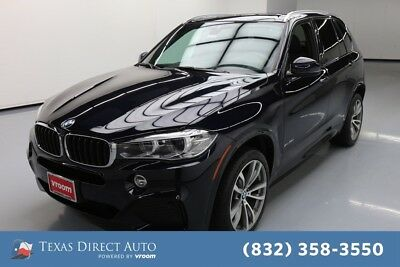 2018 BMW X5 xDrive35d Texas Direct Auto 2018 xDrive35d Used Turbo 3L I6 24V Automatic AWD SUV