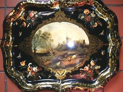 Windsor Castle Commemorative Tray - Made For The Opening Of Buckingham Palace